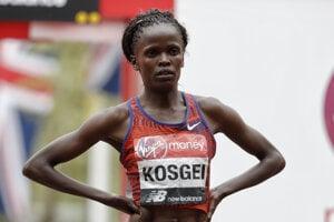 Kenská vytrvalkyňa Brigid Kosgeiová - ilustračná fotografia.