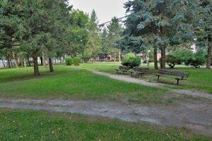 Margitin park pred revitalizáciou.