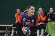 Opora ŠŠK Lívia Klučková zaťažila konto Dusla ôsmimi gólmi.