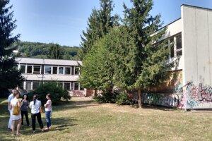 Budova bývalého gymnázia vo Zvolene.