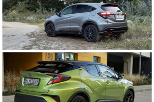 Honda HR-V vs. Toyota C-HR
