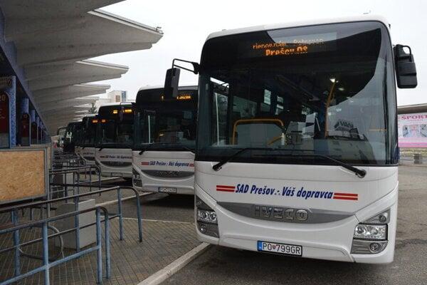 Spoločnosť SAD Prešov, a. s., bude modernizovať svoje služby.