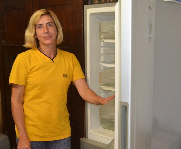 Klaudii Oláhovej sa pokazili chladnička aj mikrovlnná rúra. Tvrdí, že za to môžu časté výpadky elektriny.