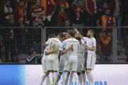 Futbalisti Realu Madrid sa radujú z gólu do siete Galatasarayu v Lige majstrov.