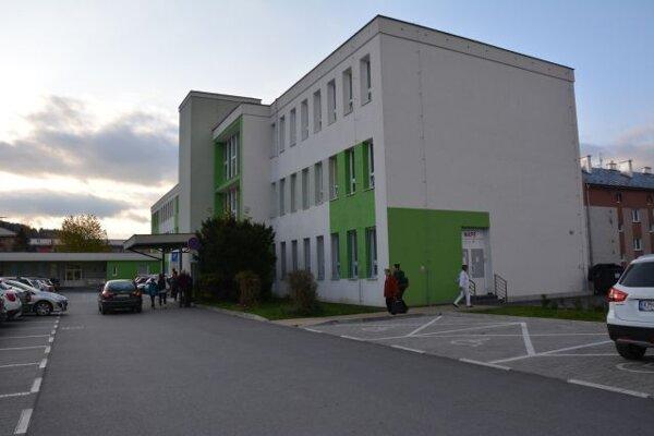 Poliklinika v Kysuckom Novom Meste.