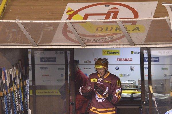 Marcel Hossa v tejto sezóne už dres Dukly neoblečie.