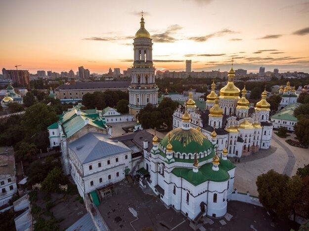 Areál KyjevskopečorskejLavry