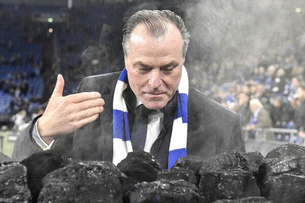Šéf Schalke Clemens Tönnies.