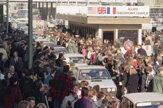 Checkpoint Charlie vtedy a dnes. Pozrite si Berlín v priebehu rokov