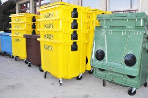 Plienky do takýchto kontajnerov nepatria, končia na smetisku.