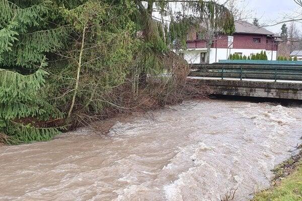 Most v Demänovej a Bodiciach.