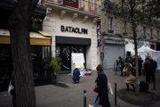 Spomienka pred klubom Bataclan.