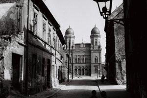 Pohľad, aký v Bratislave už neuvidíte.