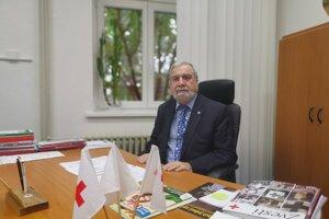 MUDr. Viliam Dobiáš, Prezident Slovenského Červeného kríža