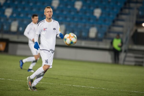 Slovenský talent a hráč FC Nitra Marián Chobot.