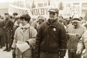 Nežná revolúcia vo Vranove nad Topľou.