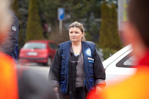 Karin Brániková pomáhala pri viacerých veľkých nešťastiach.