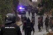 Nepokoje utečencov v španielskej enkláve Ceuta.