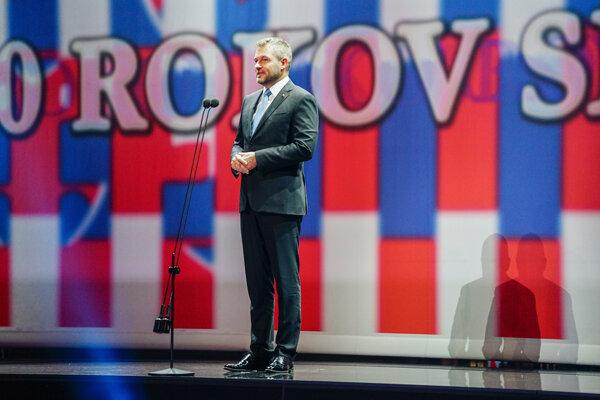 Premiér Peter Pellegrini zo Smeru reční na slávnostnom podujatí za pol milióna eur.