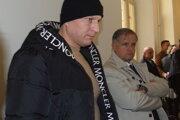 Matúš Mečár so svojím obhajcom Ivanom Kochanským.