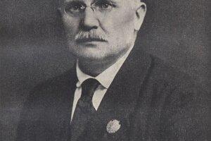 Minister s plnou mocou pre správu Slovenska, Vavro Šrobár.