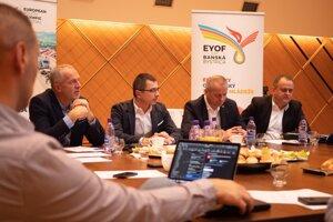 Príprava EYOF je v plnom prúde.