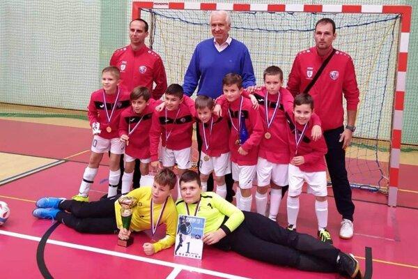 MFK Zvolen U11 - víťazi turnaja v Dolnom Kubíne