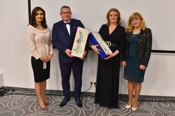 Z UNLP si ocenenia odniesla vedúca sestra Alena Kellnerová a tiež lekár Marián Rošák.