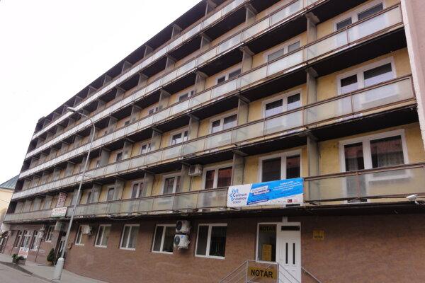 Hotel Korzo v Nových Zámkoch.