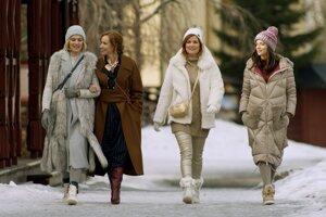 Štvorica hrdiniek novej romantickej komédie Šťastný nový rok bude v kinách od 5. decembra.