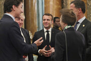 Emmanuel Macron na summite NATO