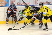 Košickí hokejisti proti Detve nezaváhali a naďalej ťahajú víťaznú sériu.