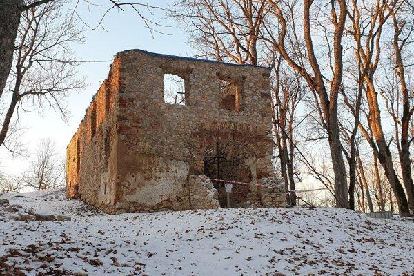 Na snímke Dom veliteľa na Muránskom hrade.