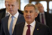 Prezident Tatárskej republiky Rustam Minnichanov.