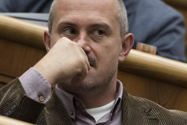 Predseda strany Kotlebovci - ĽSNS Marian Kotleba.