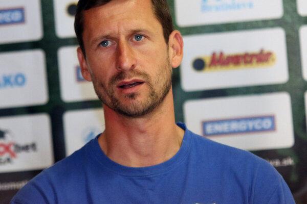Tréner FC Nitra Gergely Geri