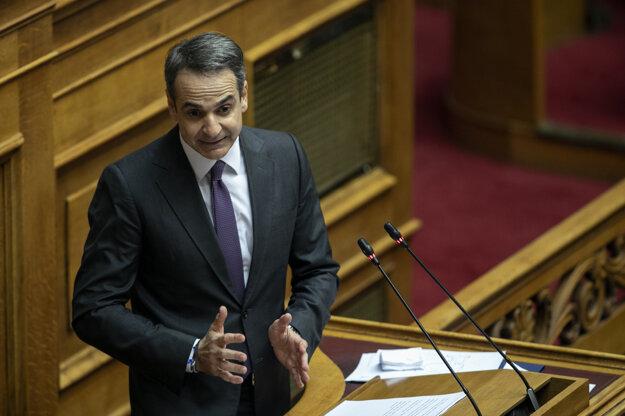 Grécky premiér Kyriakos Mitsotakis.