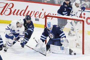 Zápas Toronto - Winnipeg.
