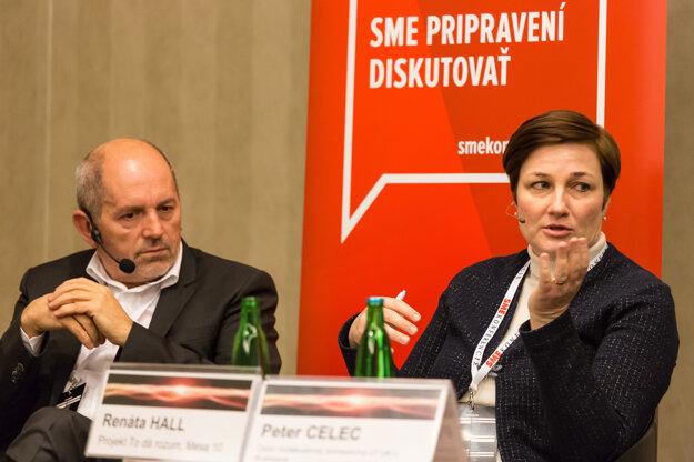 Renáta Hall z MESA10 a Martin Morháč zo Sova Digital.