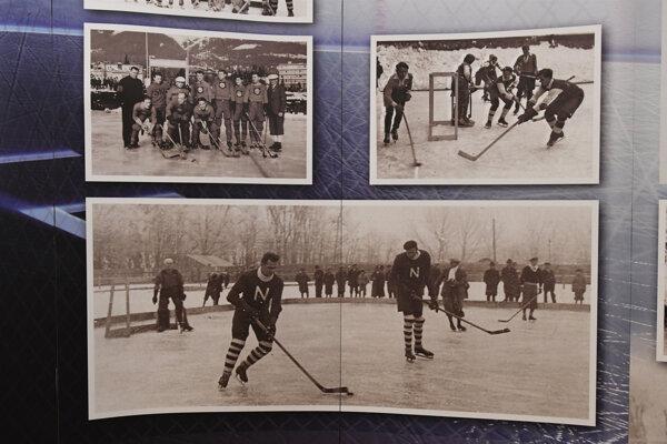 Výstava k 90. výročiu organizovaného hokeja na Slovensku bola aj vKošiciach.