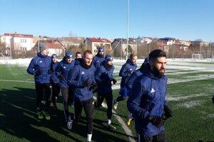Popradčania sa na prvom novoročnom tréningu stretli v stredu 8. januára.