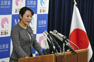 Japonská ministerka spravodlivosti Masako Moriová.