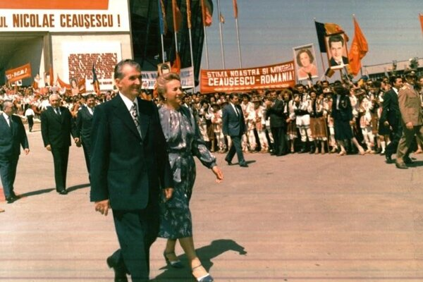 Nicolae Ceaușescu s manželkou Elenou.