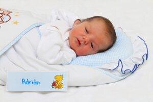 Adrián Blaho z Prievidze sa narodil 3.1. v Bojniciach