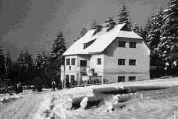 Chata Otília na Jahodnej okolo roku 1943.