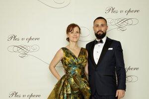 Milan Dubec, akcionár Ringier Axel Springer Slovakia, a. s. s manželkou Renátou