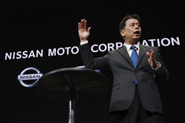 Výkonný šéf Nissanu Makoto Uchida.