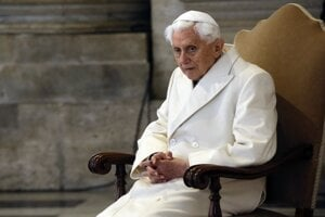 Emeritný pápež Benedikt XVI.