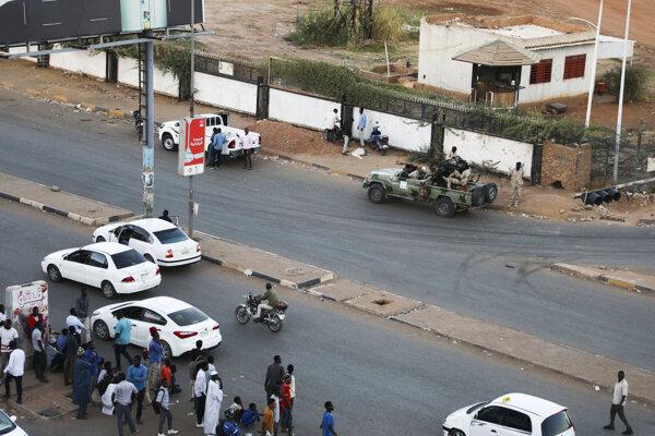 Protesty v Sudáne.