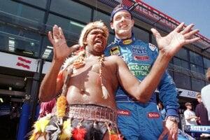 Alexander Wurz ešte ako jazdec tímu Benetton.